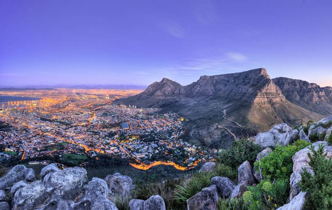 Cape Town, South Africa - cheap vacation spots
