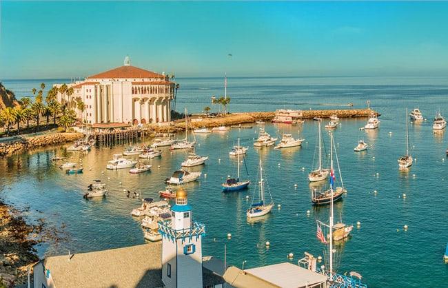 Catalina Island - cheap vacation spots