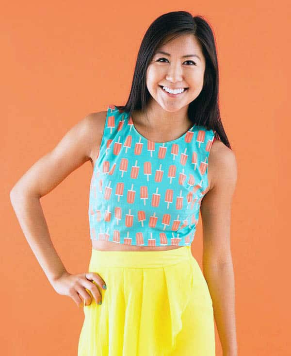 Crop Top - how to sew clothes