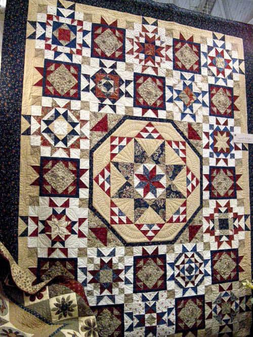 Crystal Bright Quilt - country quilts