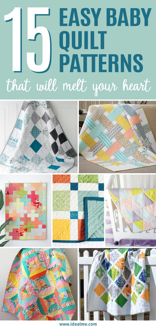 Check out our list of 15 baby quilt patterns that will melt your heart. If your heart doesn't swell looking at these adorable quilts, you may want to check your pulse.