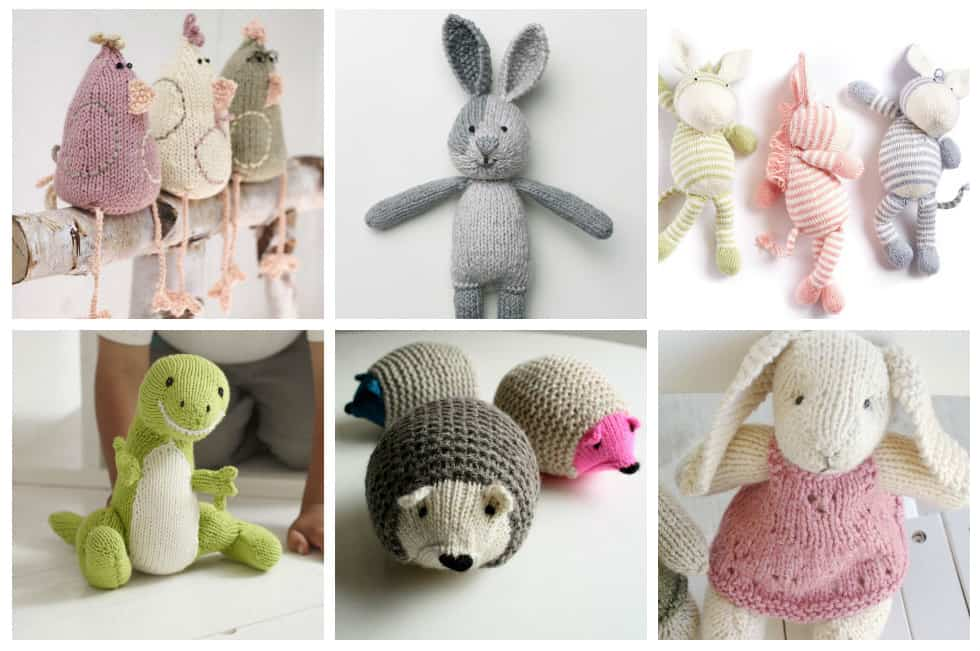 17 Unbelievably Cute Toy Knitting Patterns - Ideal Me