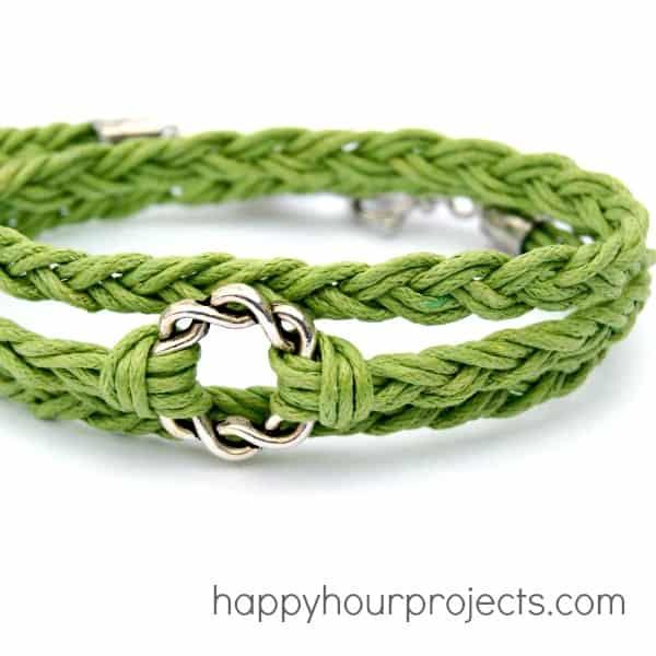 Easy Woven Wrap Bracelet - jewelry ideas