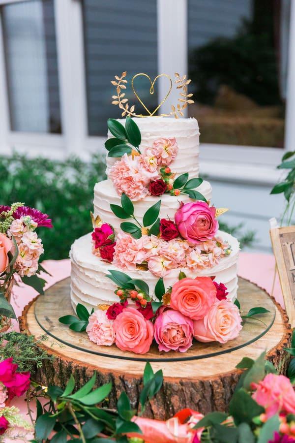 Midsummer Night's Dream Wedding Cake - wedding cake decorating ideas
