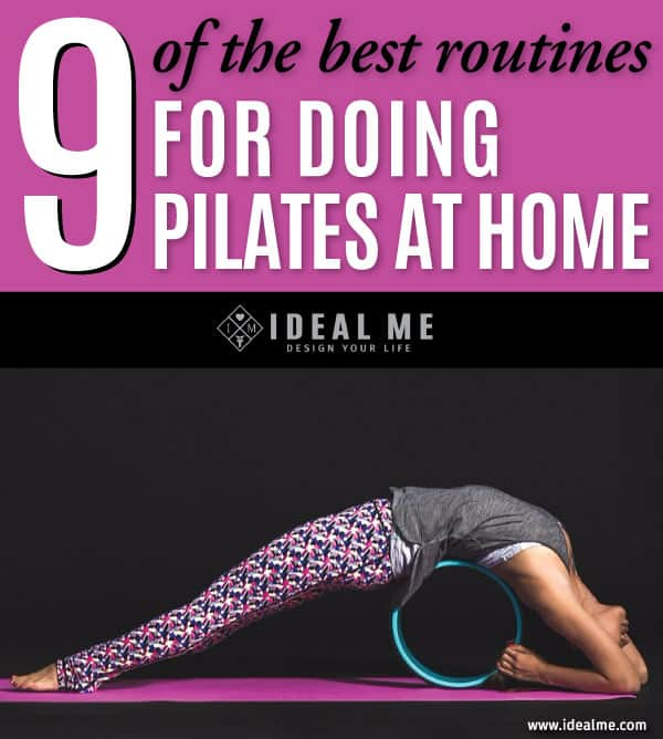 Can't make it to the gym or to a class? Never fear, here are 9 great routines for doing pilates at home. Mat pilates is such a killer workout, and almost every move can be done with just your bodyweight.