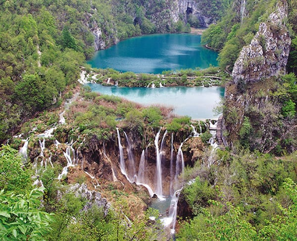 Plitvice Lakes, Croatia - unique travel destinations