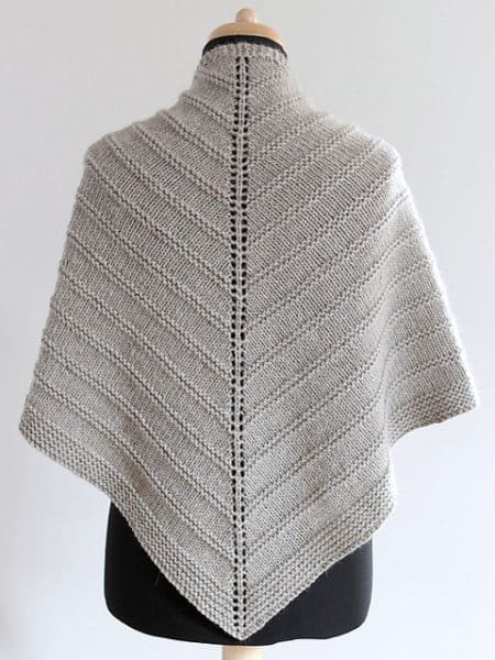 17 Free Shawl And Poncho Knitting Patterns Ideal Me