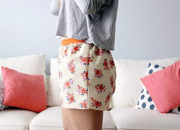 Women's Boxer Shorts - how to sew clothes