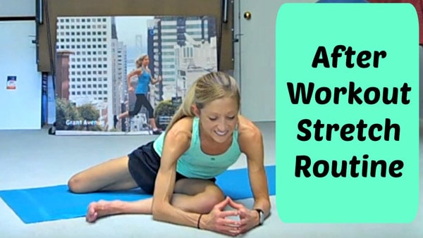 After Workout Stretch Routine