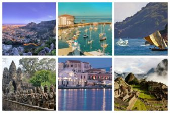 There are a whole lot of cheap vacation spots you can travel to all over the world!