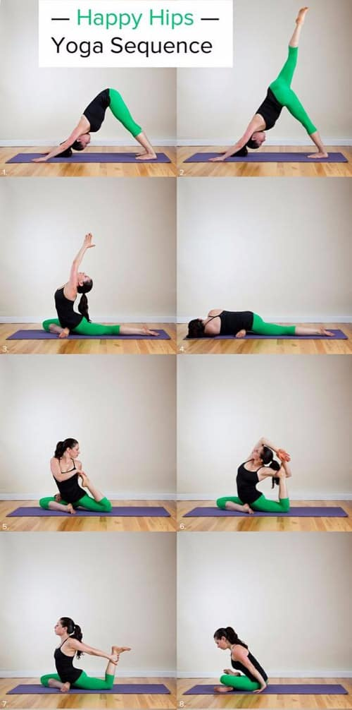 Happy Hips Yoga Sequence