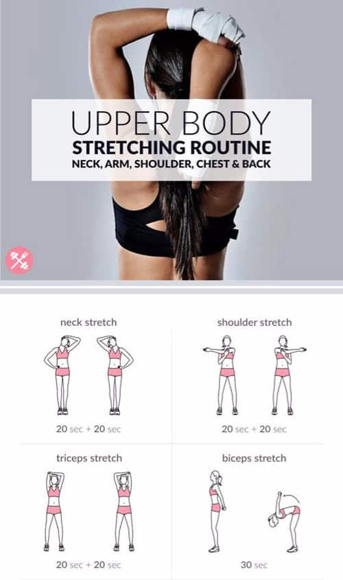 Upper Body Stretching Routine