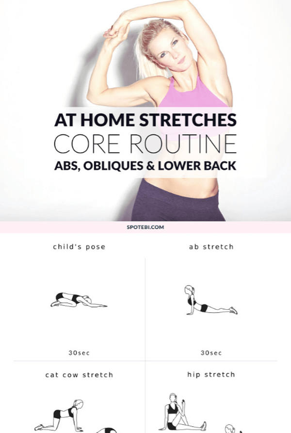 Core Stretching - stretching routines