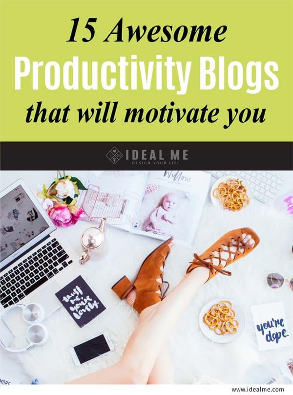 15 productivity blogs