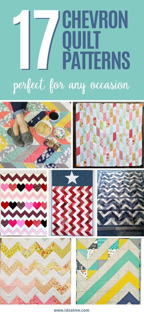 17 chevron quilt patterns