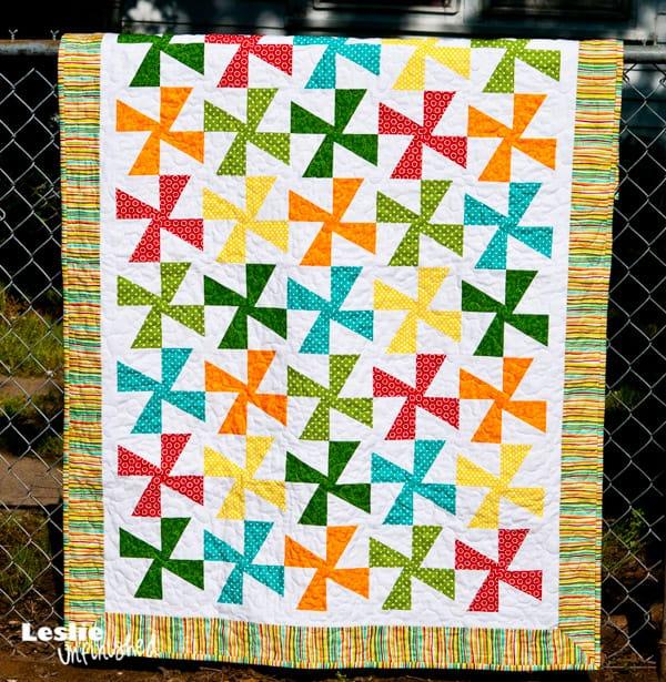 Baby Wyatt's Pinwheel Quilt - pinwheel quilt patterns