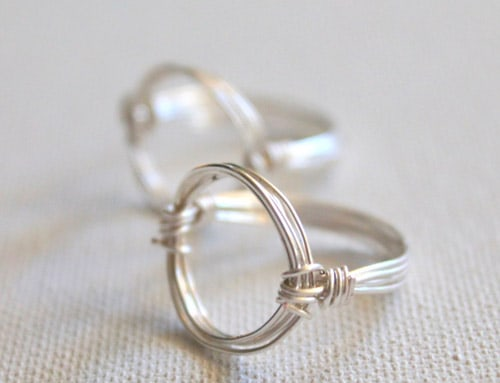 Circle Ring - simple diy rings