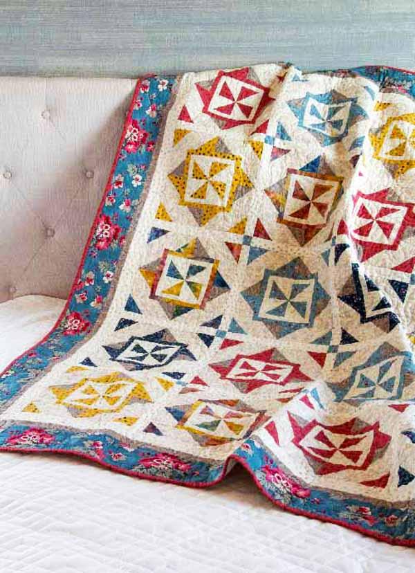 County Fair Quilt - pinwheel quilt patterns