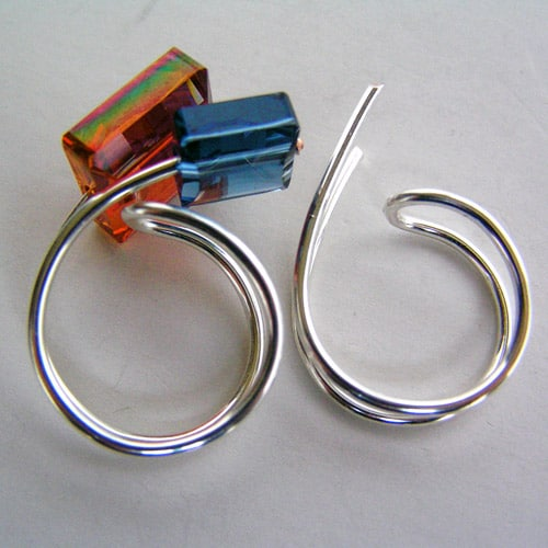 Crystal Ring - simple diy rings