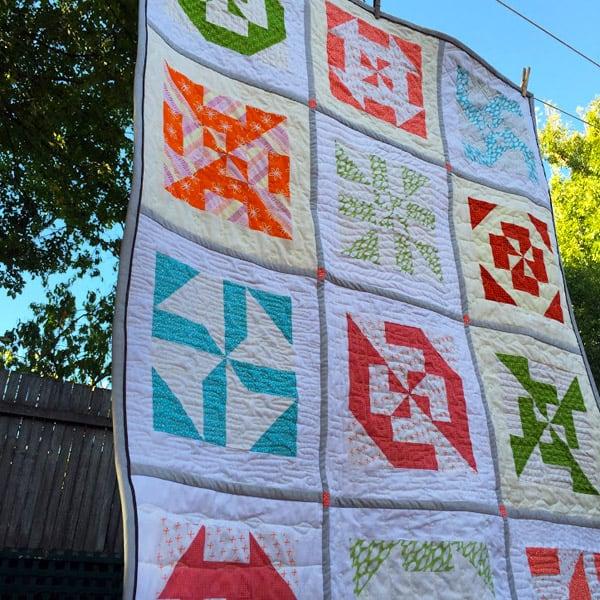 Disappearing Pinwheel Quilt - pinwheel quilt patterns
