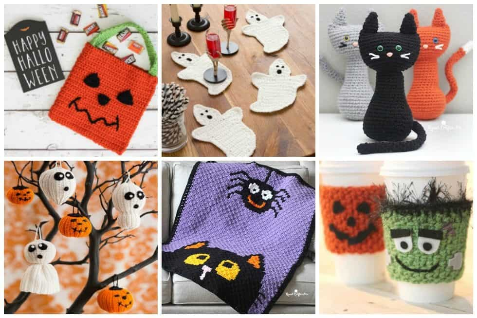 Get really creative with these 20 crochet patterns perfect for Halloween. Grab your hook and yarn and start making adorable Halloween creations now.
