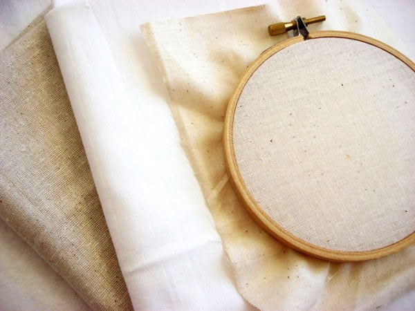Fabrics - hand embroidery supplies