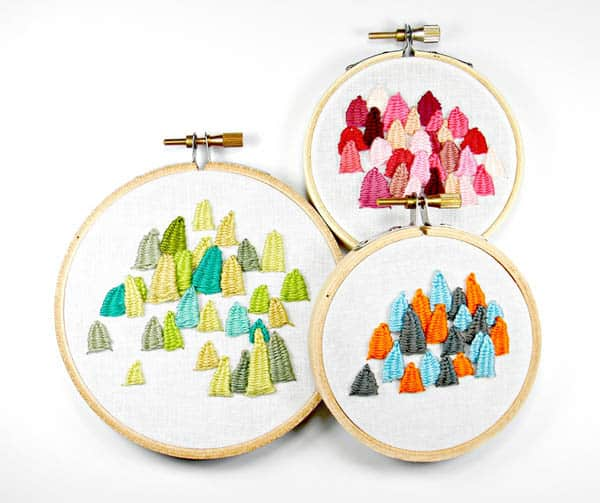 Hoops & Frames - hand embroidery supplies