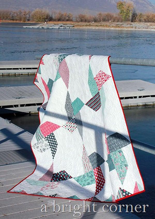 Jolly Pinwheels Quilt - pinwheel quilt patterns
