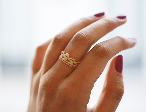 Lace Ring - simple diy rings