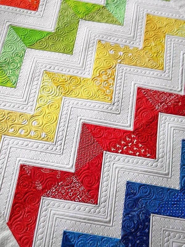 Lisa's Chevron Quilt - chevron quilt patterns