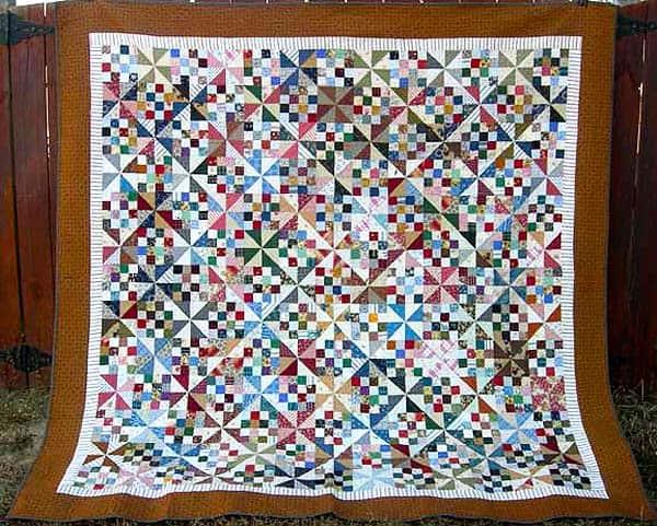 Patches & Pinwheels Quilt - pinwheel quilt patterns