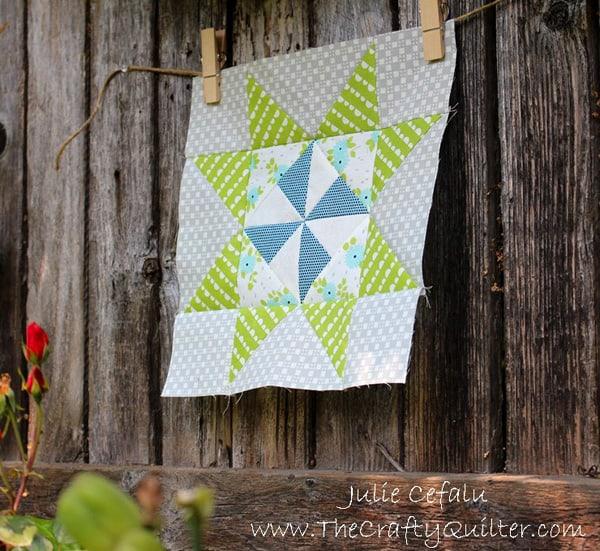 Pinwheel Star Quilt Block - pinwheel quilt patterns