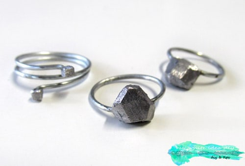 Rock Ring - simple diy rings