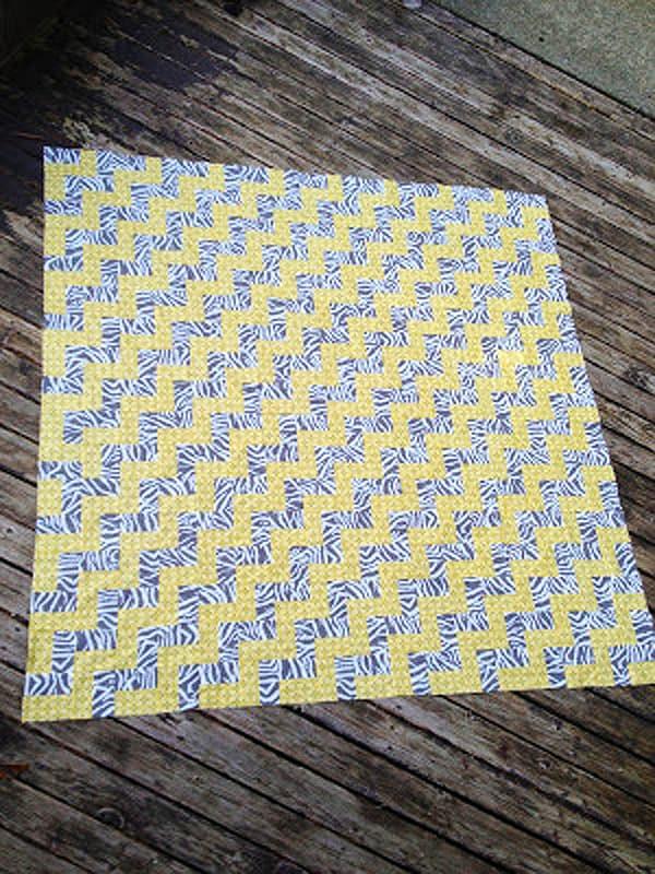 Step-Up Zig Zag Quilt - cheveron quilt patterns