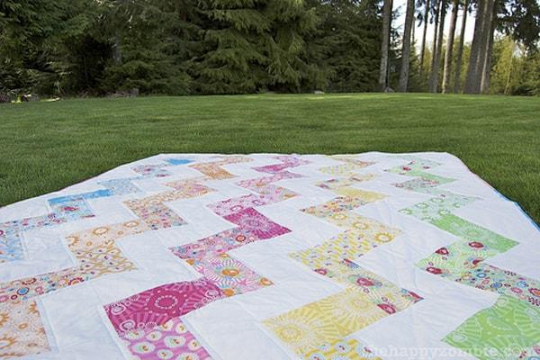 Super Zig - cheveron quilt patterns