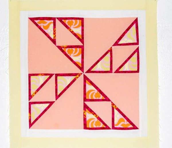 Triple Framed Pinwheel - pinwheel quilt patterns