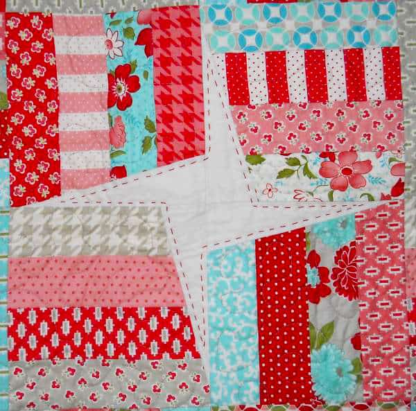 Vintage Modern Pinwheels Quilt - pinwheel quilt patterns