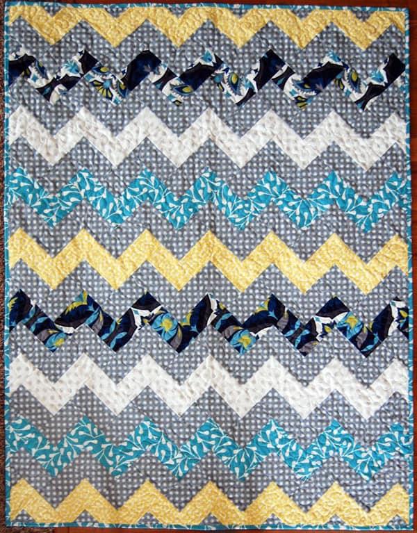 Zig Zag Chevron - cheveron quilt patterns