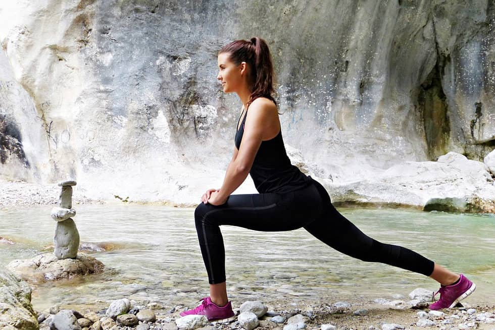 Always remember to warm up your muscles before holding any of these stretching exercises for knee pain to avoid injury.