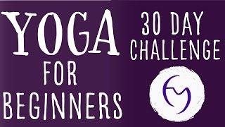 Yoga For Beginners 30 Day Challenge