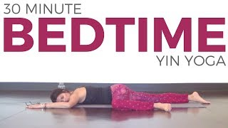 30 Minute Yin Yoga For Bedtime