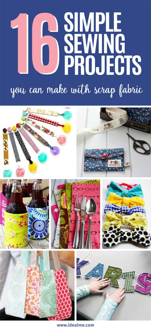 16 simple sewing projects