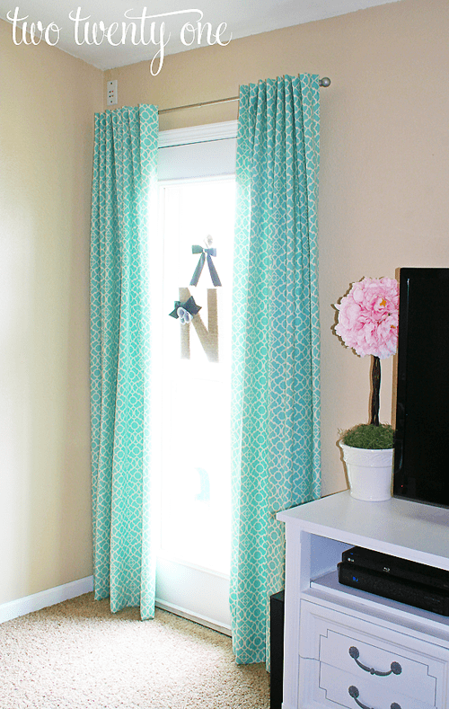 Curtains - DIY sewing projects