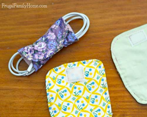 DIY Cord Keeper - simple sewing projects