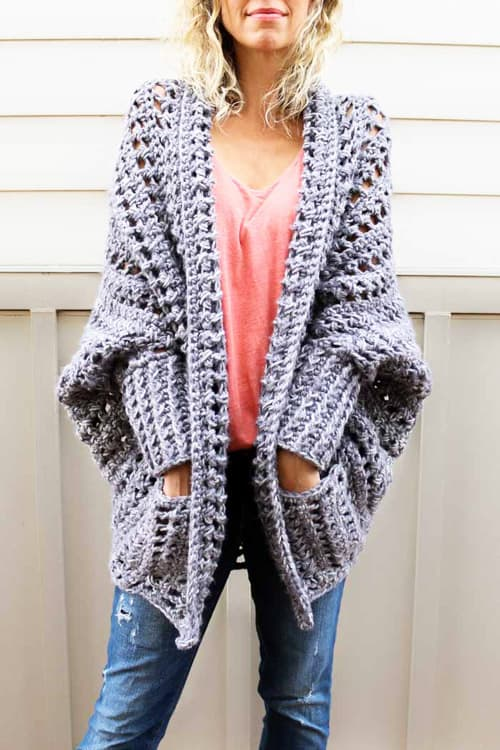 Dwell - free crochet sweater patterns