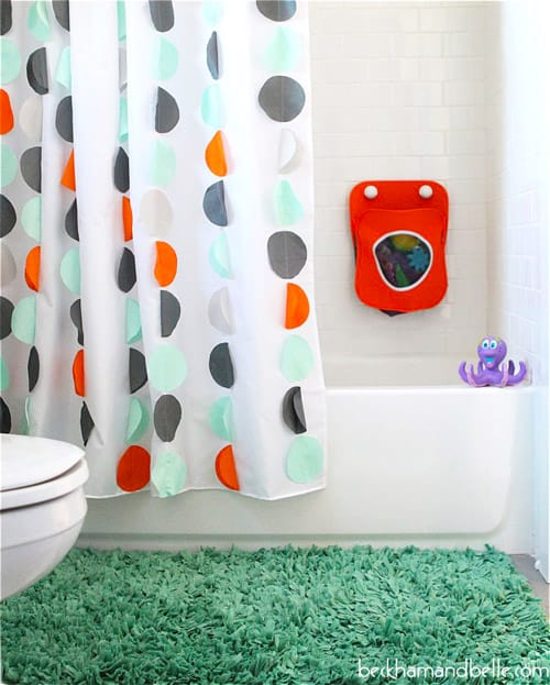 Shower Curtain - DIY sewing projects