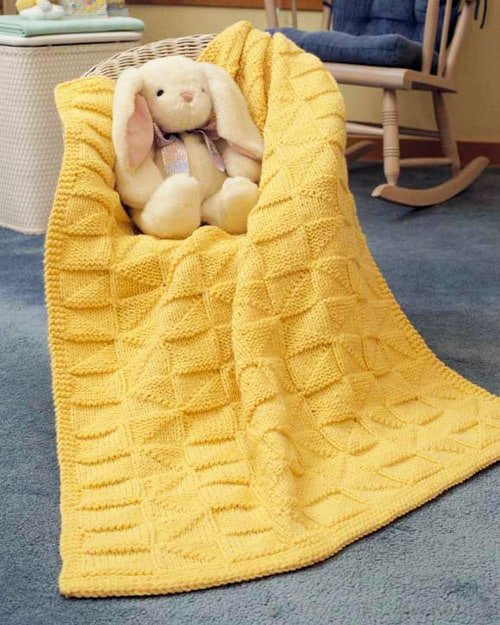 Soft-as-a-Cloud - free baby blanket knitting patterns