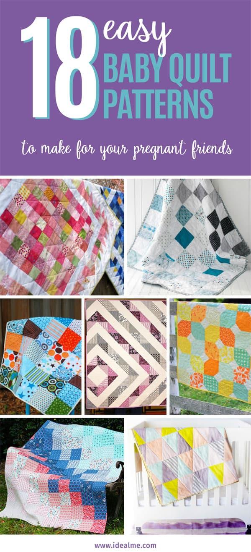 18 baby quilt patterns