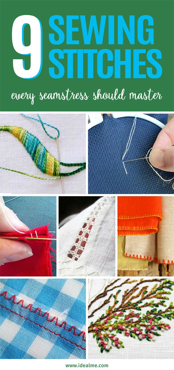 9 sewing stitches