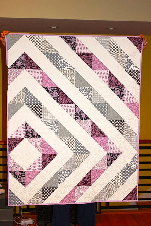 Asymmetrical - easy baby quilt patterns